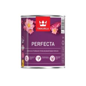 Краска износостойкая интерьерная Tikkurila Perfecta | Тиккурила Перфекта, глубокоматовая, база A, 0.9 л, 700010598