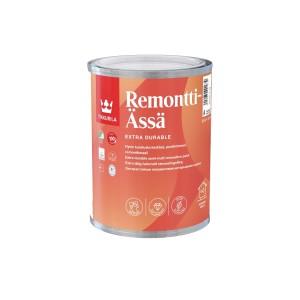 Краска моющаяся интерьерная Tikkurila Remontti-Ässä | Тиккурила Ремонтти-Асся, полуматовая, база A, 0.9 л, 81560010110