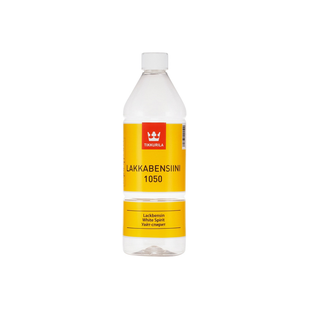 Растворитель уайт-спирит Tikkurila Lakkabensiini 1050 | Тиккурила Лаккабензини 1050 00610500060_cfg