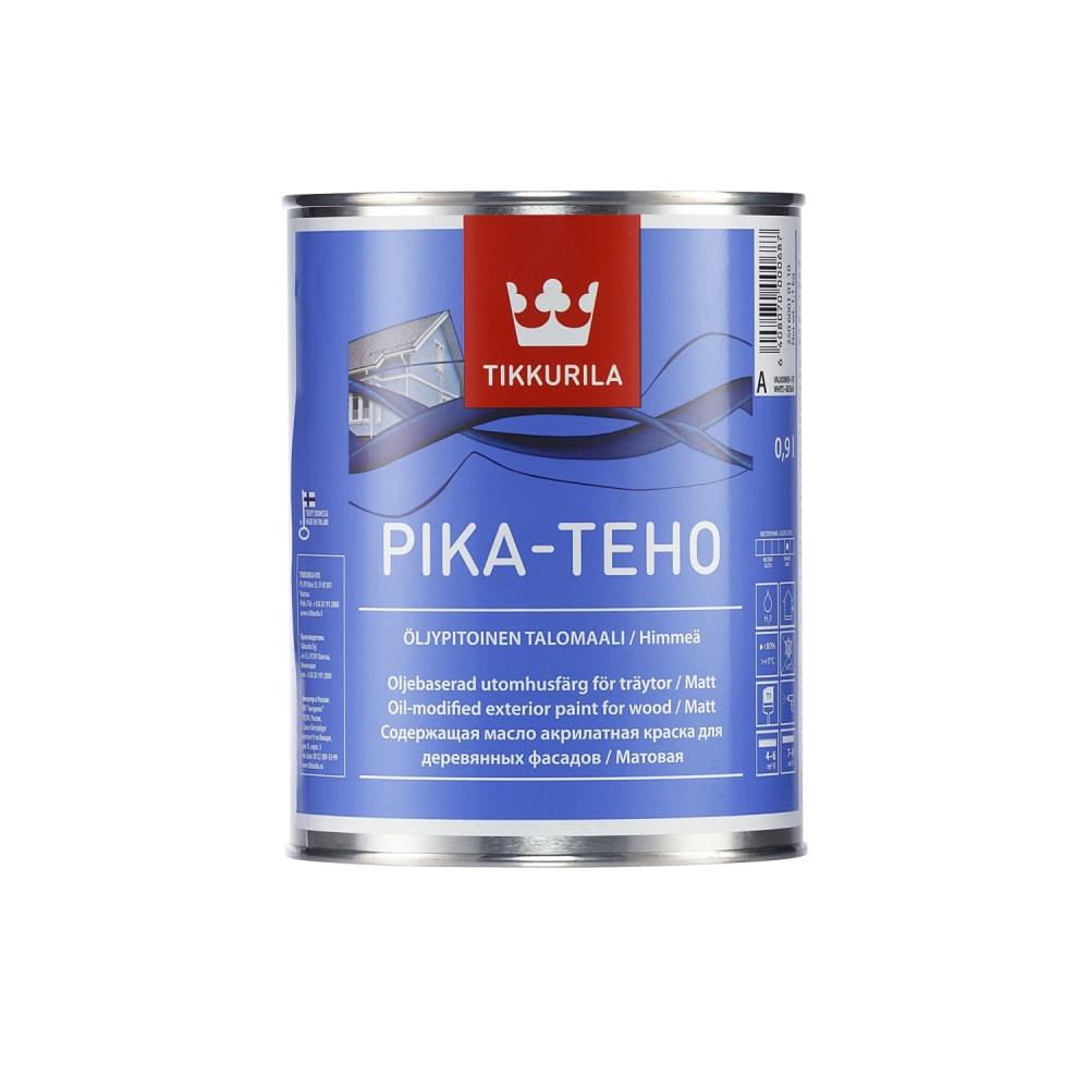Краска акрилатная для наружных деревянных поверхностей Tikkurila Pika-Teho | Тиккурила Пика-Техо 25060010110_cfg