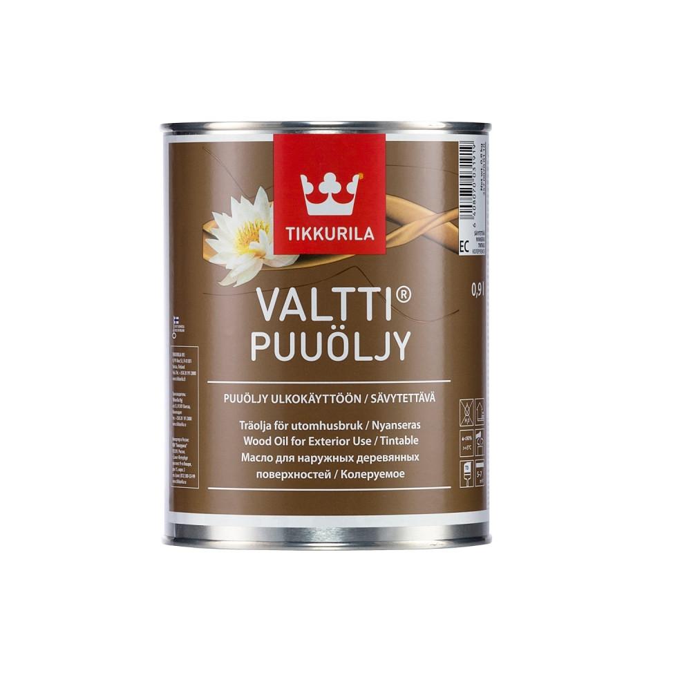 Масло для наружных деревянных поверхностей Tikkurila Valtti Puuöljy | Тиккурила Валтти Пуолью 25700700110_cfg