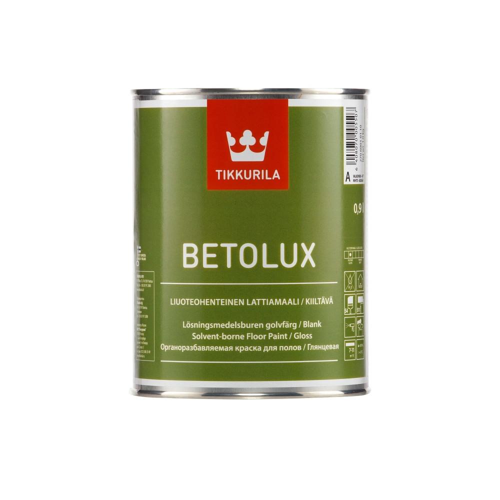 Краска уретано-алкидная для пола Tikkurila Betolux | Тиккурила Бетолюкс 27060010110_cfg