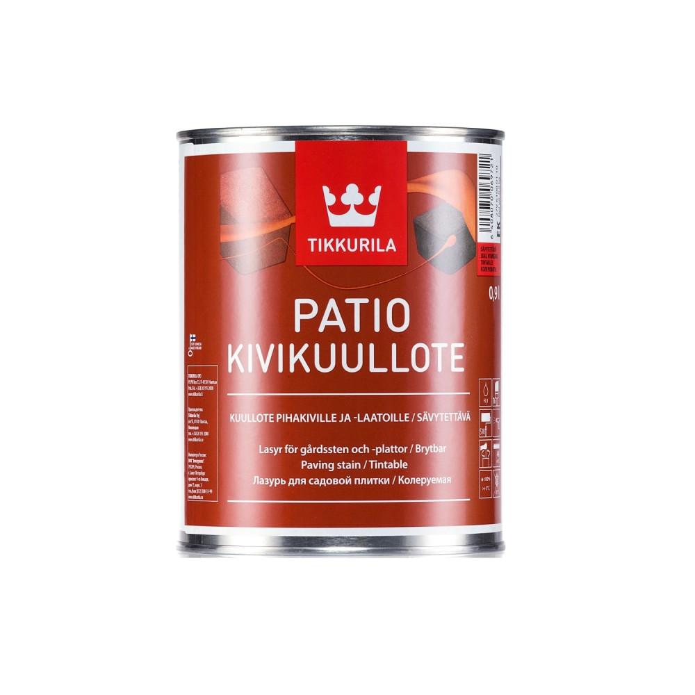 Лазурь для садовой плитки Tikkurila Patio Kivikuullote | Тиккурила Патио 27V61000110_cfg