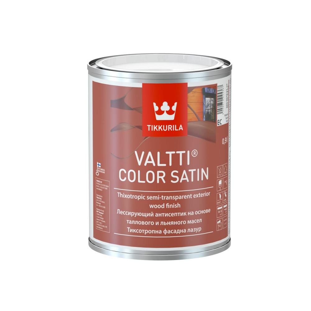 Антисептик лессирующий для наружных деревянных поверхностей Tikkurila Valtti Color Satin | Тиккурила Валтти Колор Сатин 2930070V110_cfg