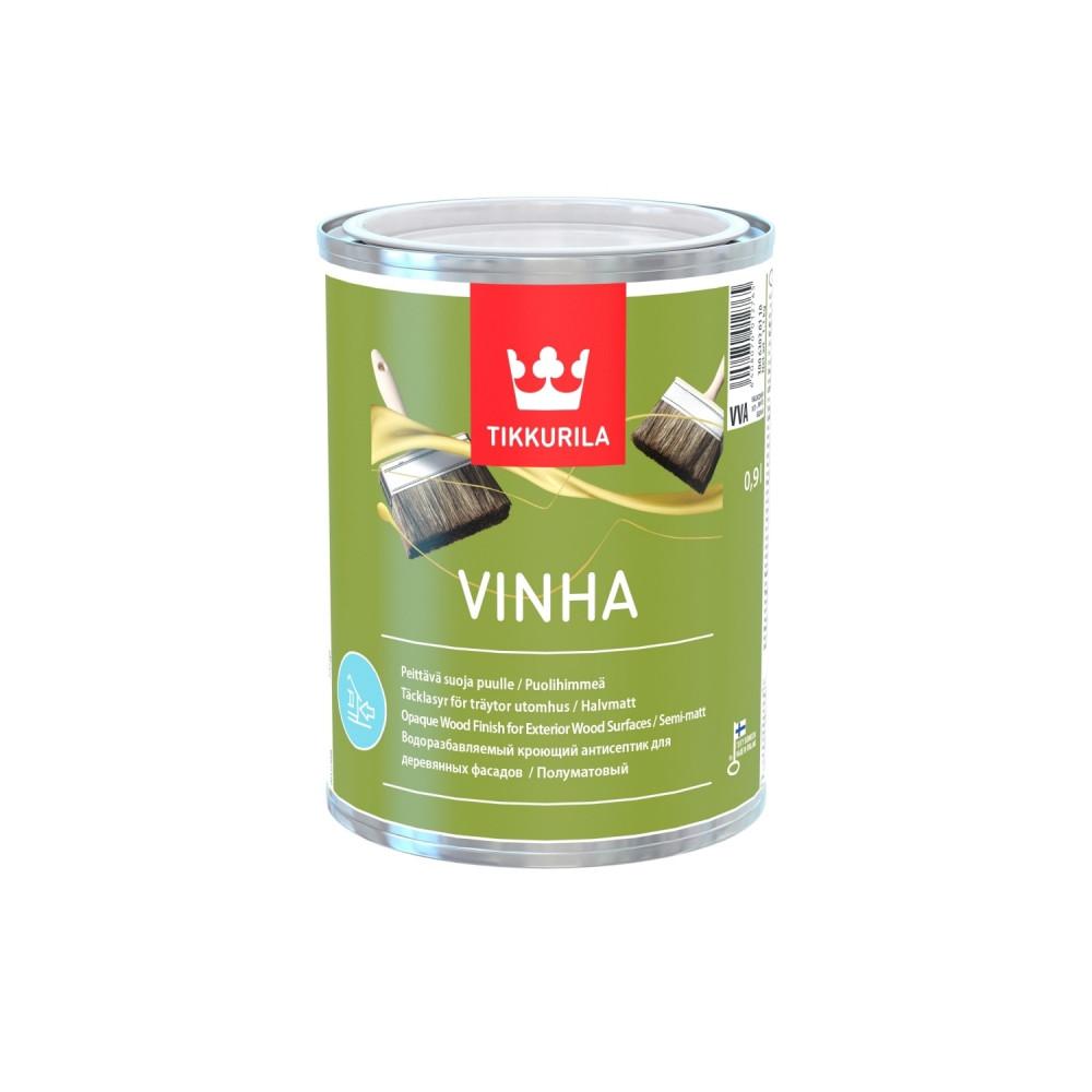 Антисептик кроющий для наружных деревянных поверхностей Tikkurila Vinha | Тиккурила Винха 30063030110_cfg