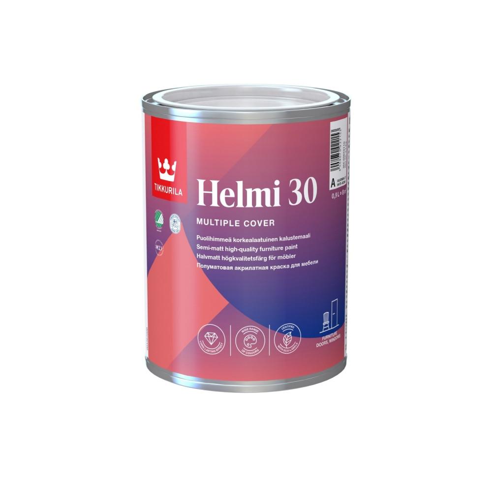 Эмаль акрилатная универсальная интерьерная Tikkurila Helmi 30 | Тиккурила Хелми 30 36660010110_cfg