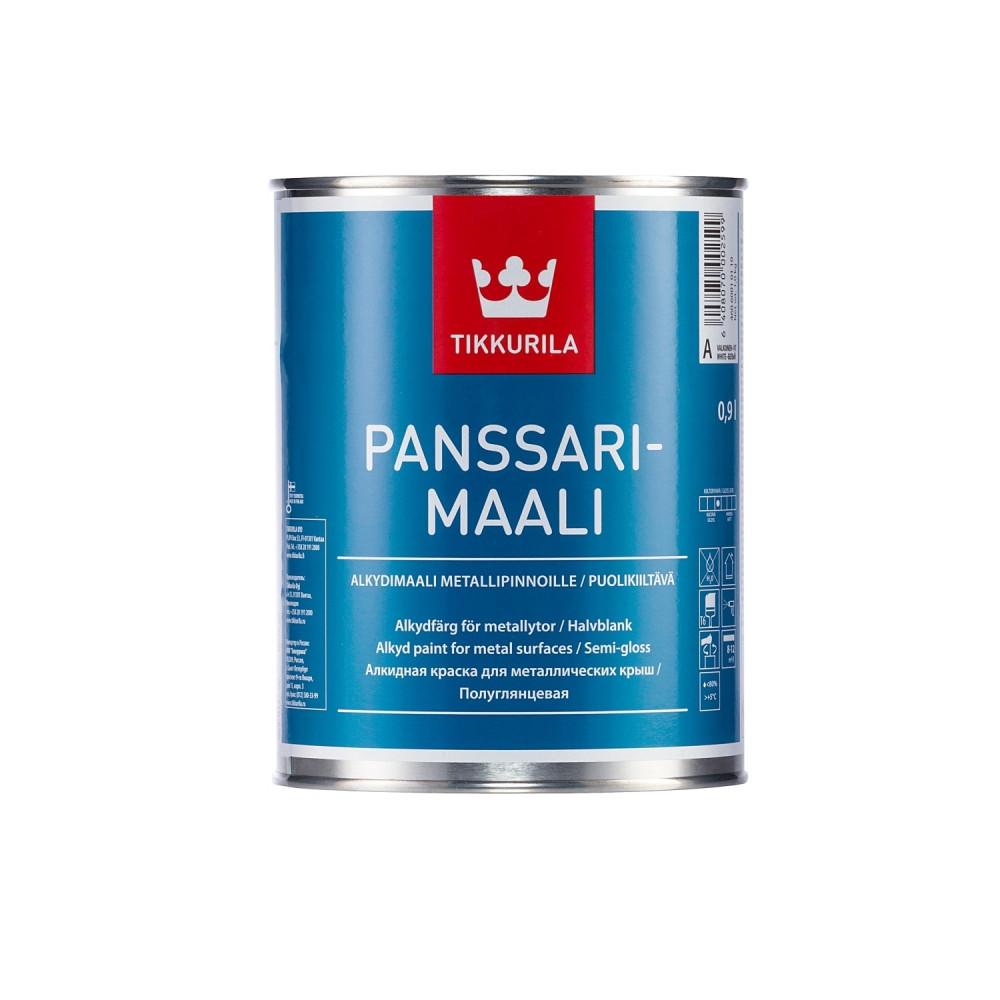 Эмаль алкидная для металлических крыш Tikkurila Panssarimaali | Тиккурила Панссаримаали 46060010110_cfg