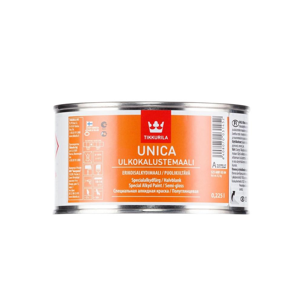 Эмаль алкидная универсальная для наружных и внутренних работ Tikkurila Unica Ulkokalustemaali   Тиккурила Уника Улкокалустэмаали 52560010304_cfg