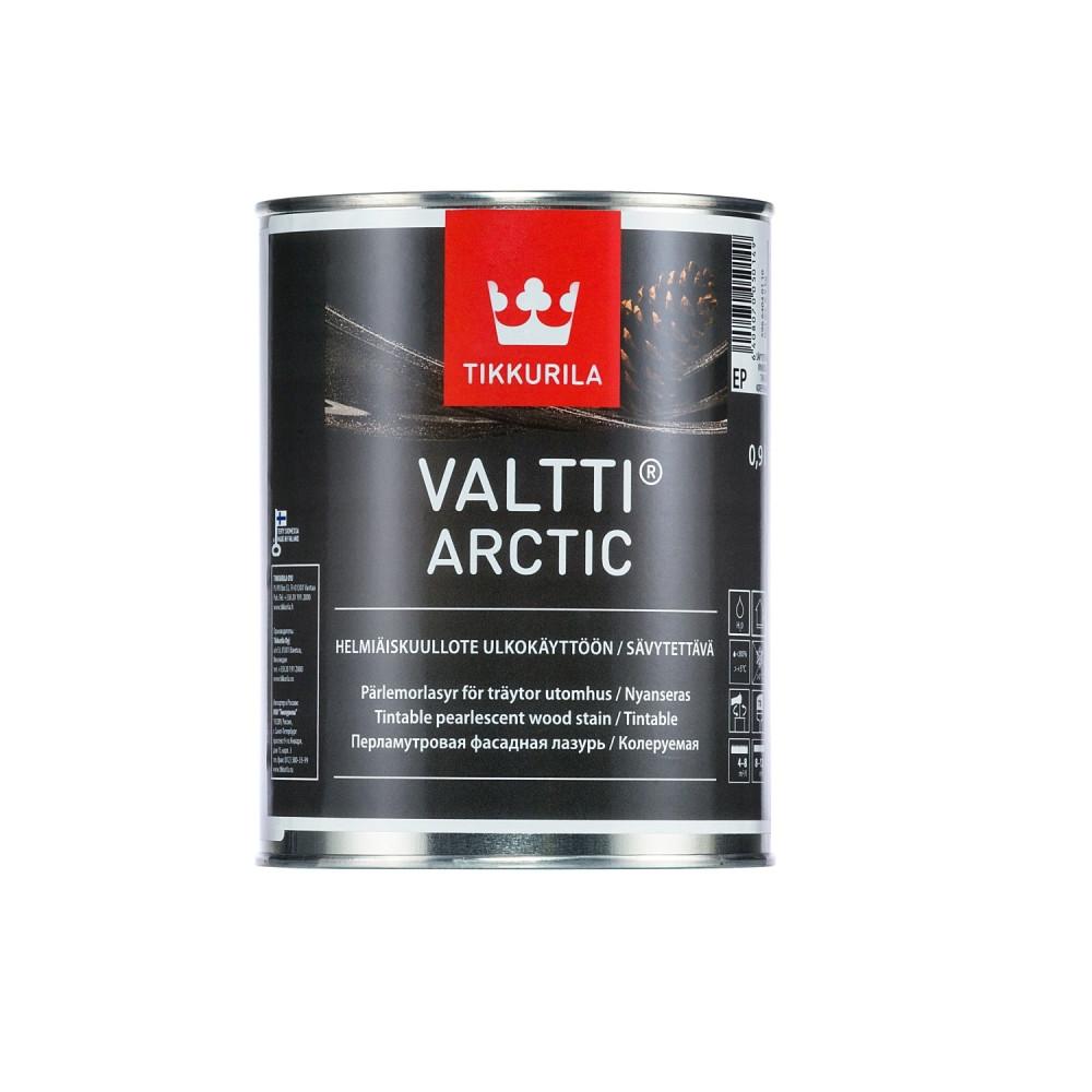Антисептик лессирующий перламутровый для наружных деревянных поверхностей Tikkurila Valtti Arctic | Тиккурила Валтти Арктик 59664040110_cfg
