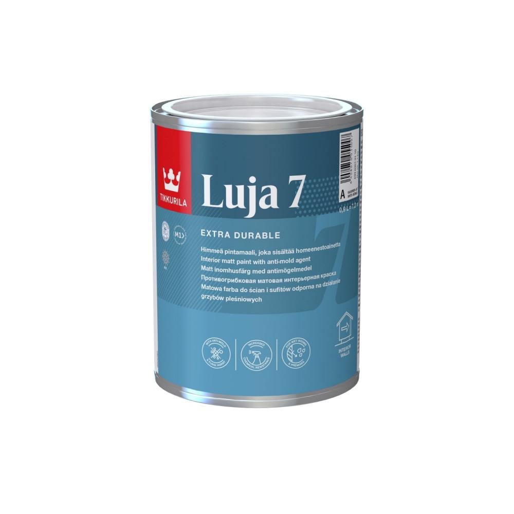 Краска акрилатная экстра-стойкая интерьерная Tikkurila Luja 7 | Тиккурила Луя 7 69960010110_cfg