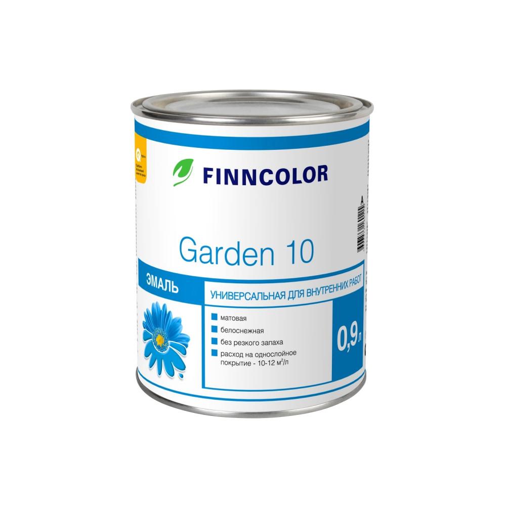 Эмаль универсальная алкидная Finncolor Garden 10, 700001058_cfg