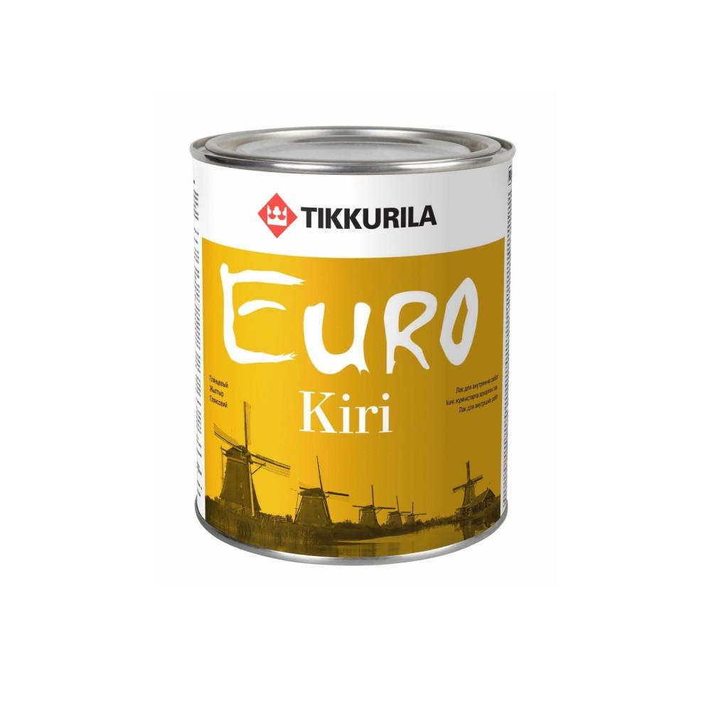Лак паркетный Tikkurila Euro Kiri   Тиккурила Евро Кири 700001142_cfg