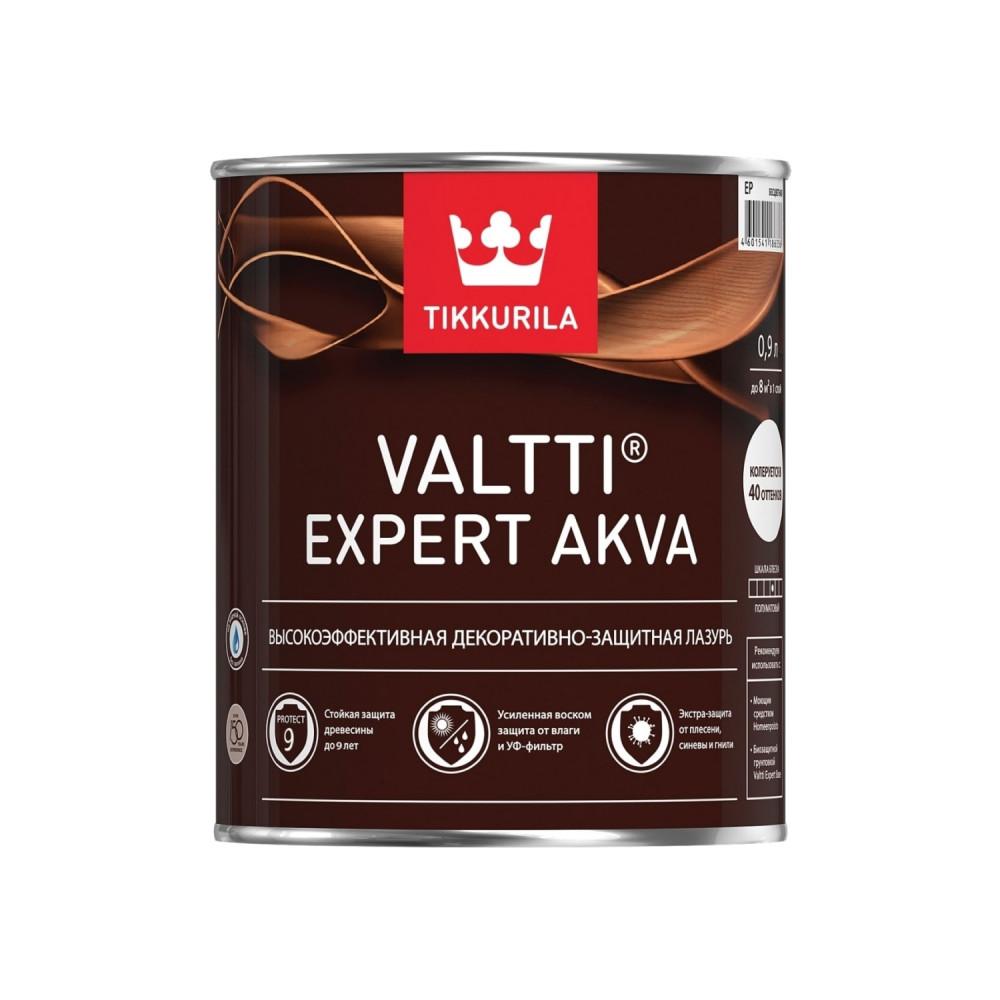 Антисептик лессирующий для наружных деревянных поверхностей Tikkurila Valtti Expert Akva | Тиккурила Валтти Эксперт Аква 700009571_cfg