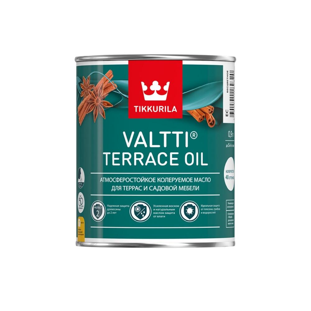 Масло атмосферостойкое для террас и садовой мебели Tikkurila Valtti Terrace Oil | Тиккурила Валтти Террас Ойл 700010363_cfg