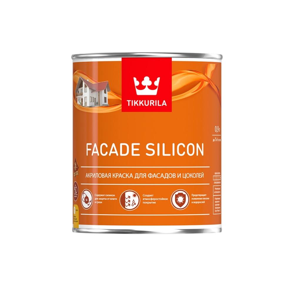Краска акриловая для фасадов и цоколей Tikkurila Facade Silicon | Тиккурила Фасад Силикон 700011473_cfg