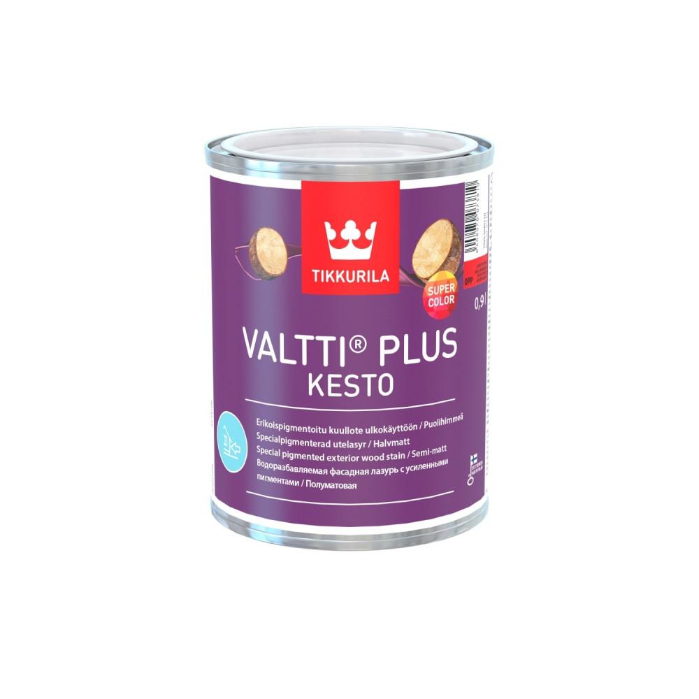 Антисептик лессирующий с повышенной цветостойкостью для наружных деревянных поверхностей Tikkurila Valtti Plus Kesto | Тиккурила Валтти Плюс Кесто 70V63040160_cfg