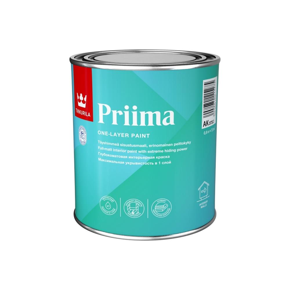 Краска однослойная интерьерная Tikkurila Priima | Тиккурила Прима 710012052_cfg