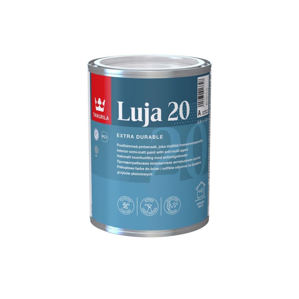 Краска акрилатная экстра-стойкая интерьерная Tikkurila Luja 20 | Тиккурила Луя 20 80460010110_cfg