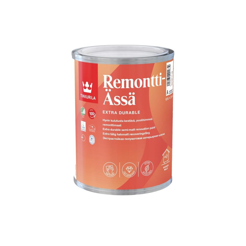 Краска моющаяся интерьерная Tikkurila Remontti-Ässä | Тиккурила Ремонтти-Асся 81560010110_cfg