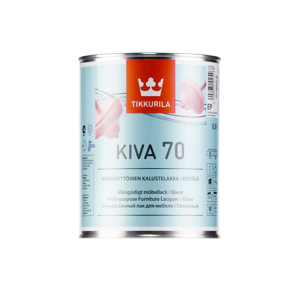 Лак для мебели универсальный Tikkurila Kiva 70 | Тиккурила Кива 70 85364040110_cfg