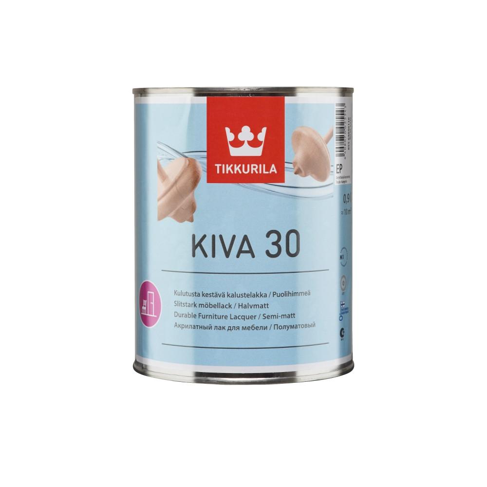 Лак для мебели универсальный Tikkurila Kiva 30 | Тиккурила Кива 30 85564040110_cfg