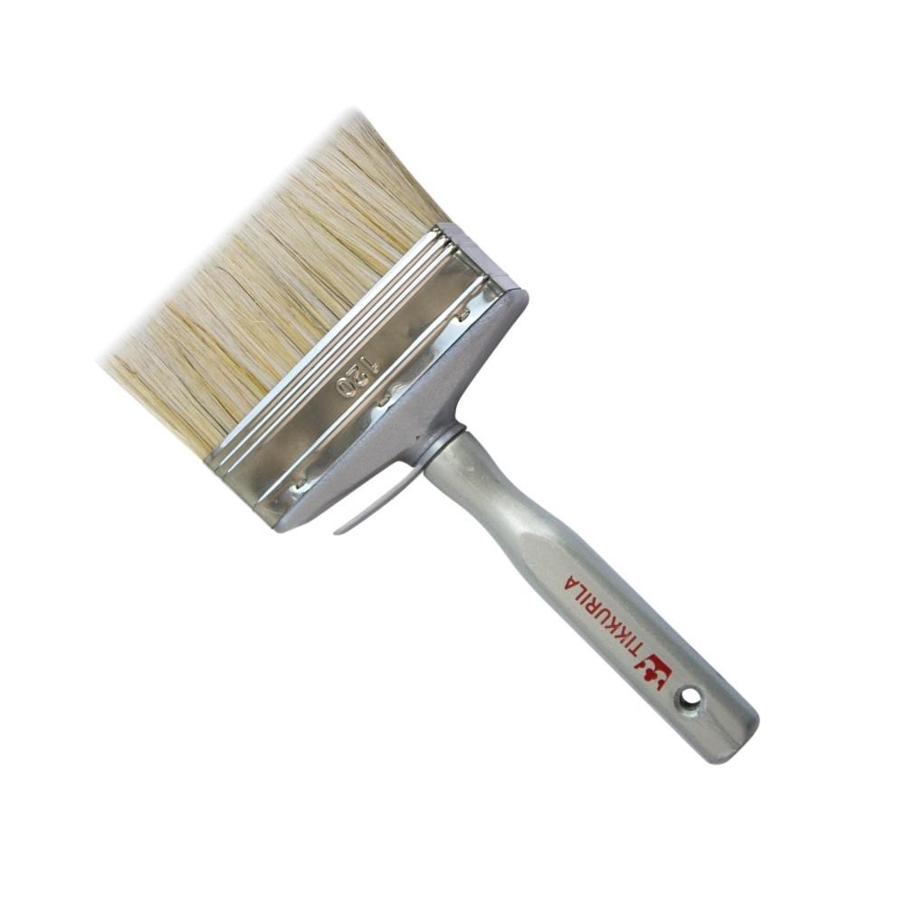 Кисть со смешанным ворсом Tikkurila Brush, Т6 120 мм, 710008467