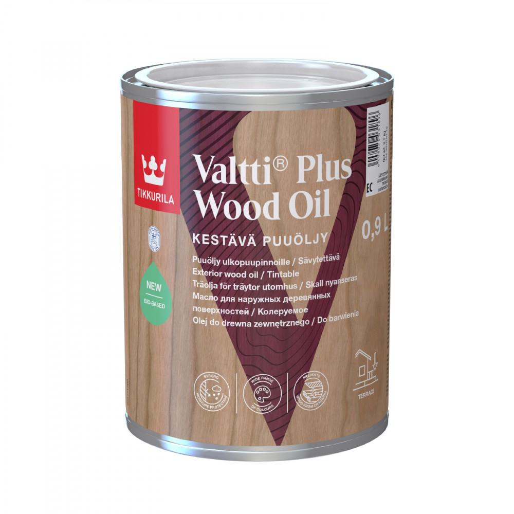 Масляная эмульсия для наружных деревянных поверхностей Tikkurila Valtti Plus Wood Oil | Тиккурила Валтти Плюс Вуд Оил 25600700110_cfg