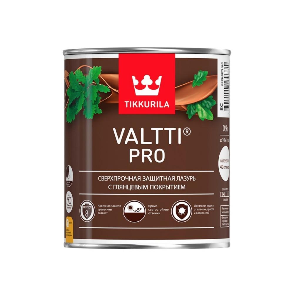 Антисептик лессирующий сверхпрочный для наружных деревянных поверхностей Tikkurila Valtti Pro | Тиккурила Валтти Про 700010327_cfg